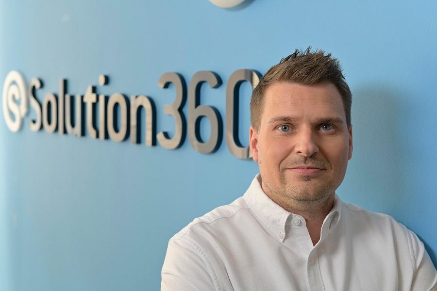 Henryk Lippert als Geschäftsführer von Solution360