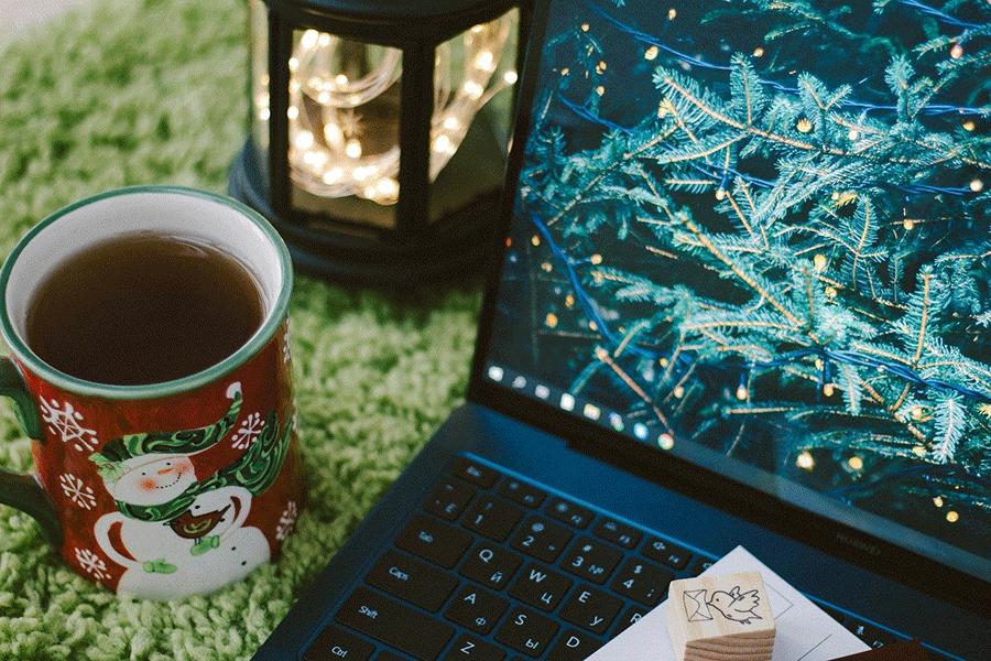 O' du digitale Weihnachtszeit