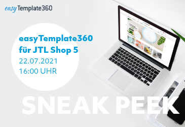 easyTemplate360 Version 2 für JTL Shop 5