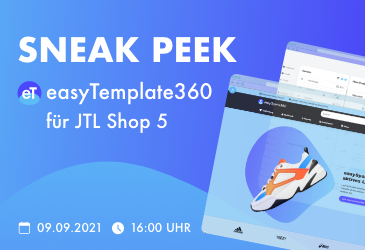 Recap: Sneak Peek easyTemplate360 Version 2