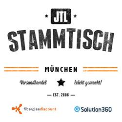 JTL Stammtisch München am 30.09.15 - presented by Fiberglas-Discount & Solution360