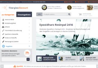 Fiberglas-Discount.de mit neuem JTL Shop online