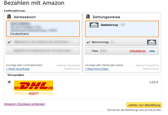 Amazon Login & Pay Plugin für JTL von Solution360