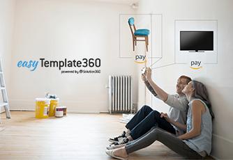 Rabattaktion von Amazon Pay für das easyTemplate360