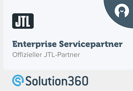 Solution 360: offizieller JTL Enterprise Servicepartner