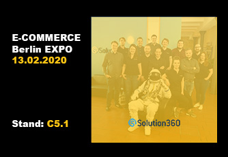 Solution360 ist auf der E-Commerce Berlin EXPO 2020