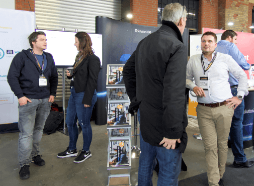 Solution360 e commerce Expo Berlin 2019 Galerie im Gespraech