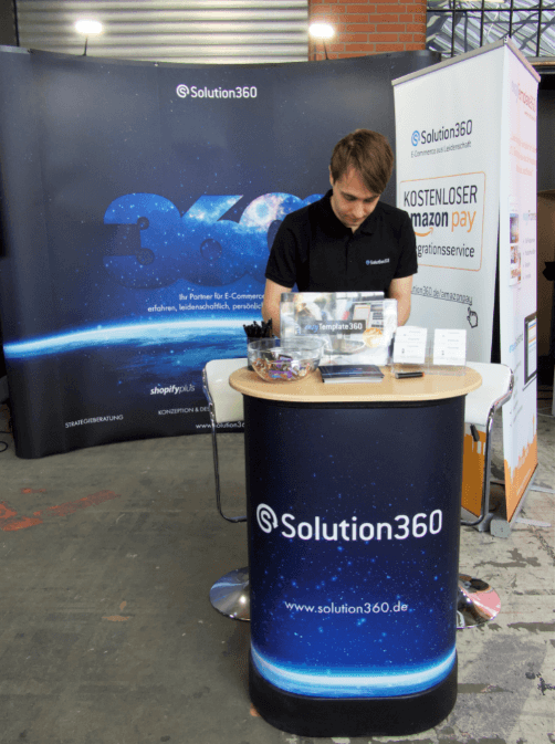 Solution360 e commerce Expo Berlin 2019 Galerie unser Stand