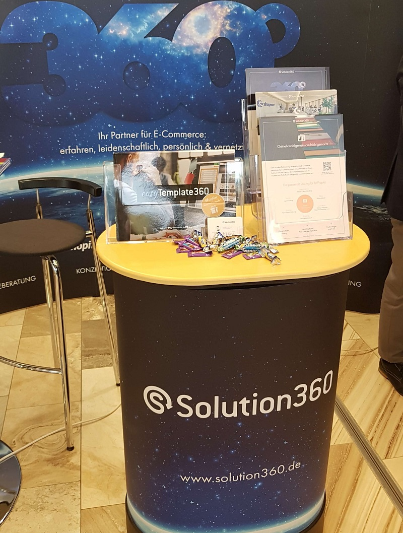 Solution360 merchantday Hannover 2019 Galerie Stand