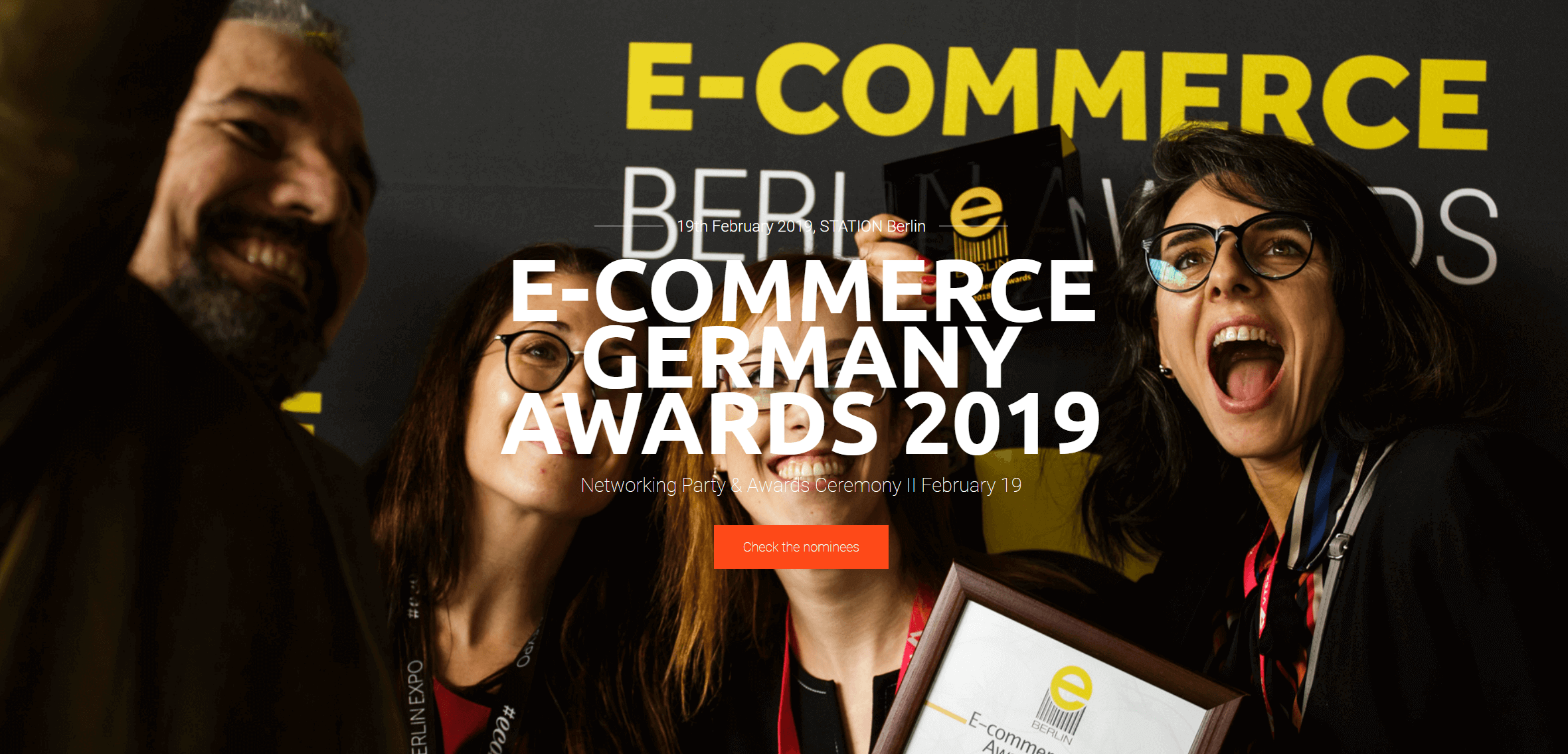 E commerce Germany Awards 2019