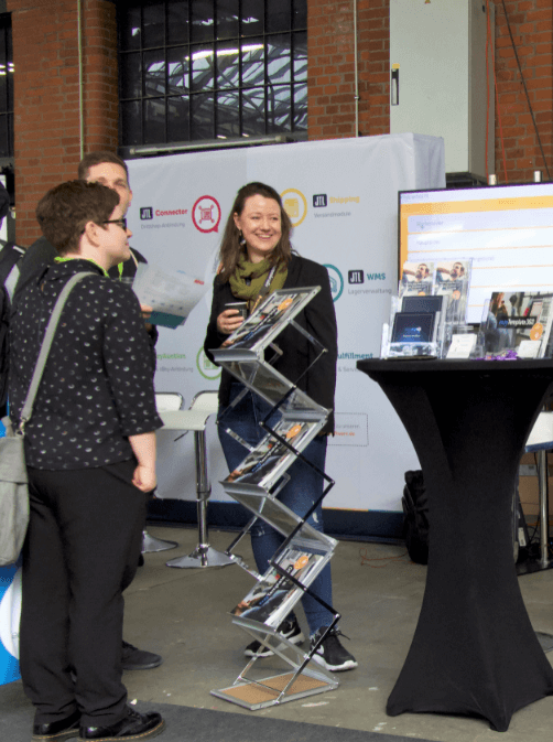 Solution360 e commerce Expo Berlin 2019 Galerie Marie und Besucher