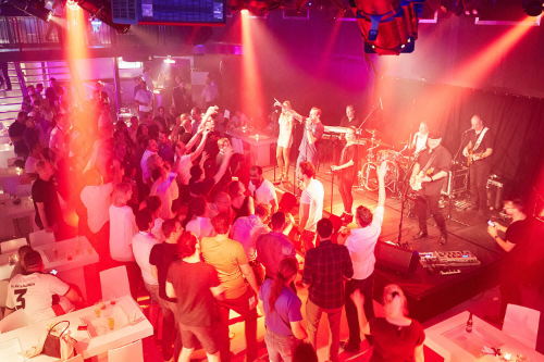After-Show-Party mit Live Musik